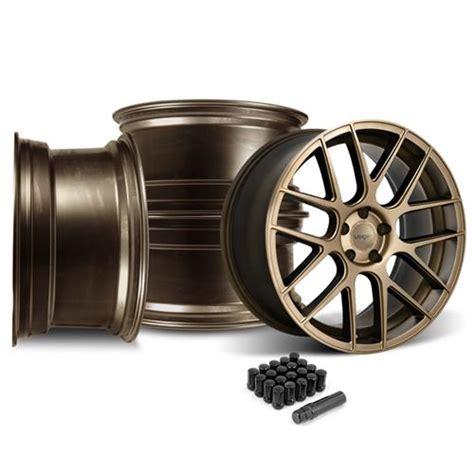 mustang 10 5 wheels mustang velgen vmb7 20x9 10 5 bronze wheel kit 05 14