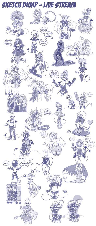 wind up doll by anime sketcher1 on deviantart sketch dump live october by lorddragonmaster on