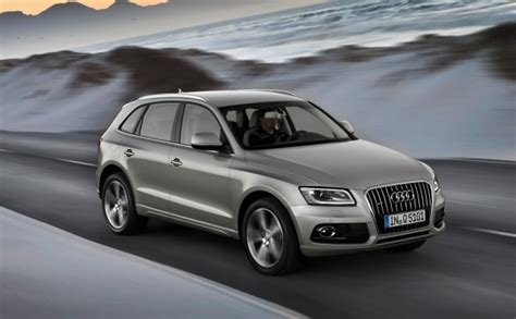 audi q5 year to year changes 2013 audi q5 preview