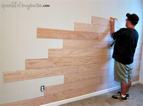 diy plank wall floortilewalls wood plank walls