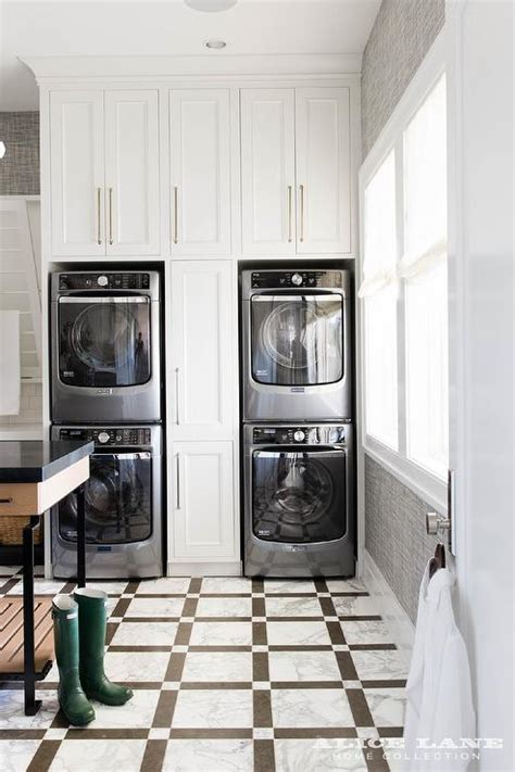 stacked washer dryer cabinet enclosures pull out cabinets between stacked washers and dryers