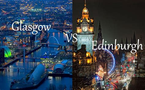 Glasgow vs Edinburgh: Which City is Your Favorite?