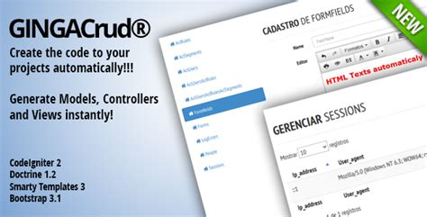 codeigniter code generator crud ginga crud codeigniter code generator by reyguitta
