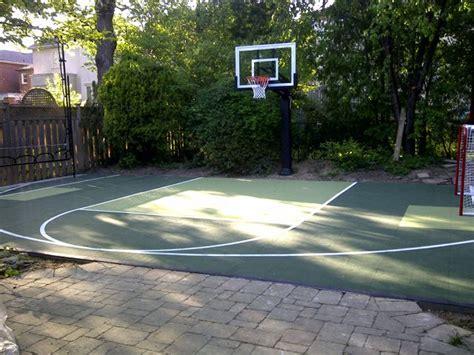 backyard basketball court flooring 40 best images about sport court on pinterest