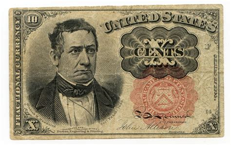 Who Makes The Paper For Us Currency - file 1874 us currency fractional 10 cent note jpg