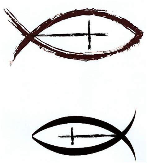 cross tattoo with jesus fish cross tattoo images designs
