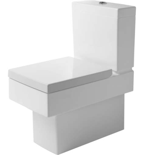 square toilet duravit 21160900921 vero square two piece toilet in white