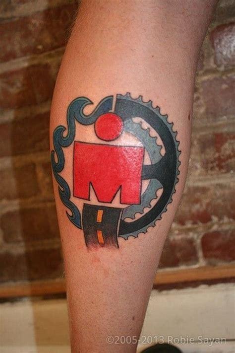 triathlon tattoo numbers dig deep with triathlon tattoos tattoodo