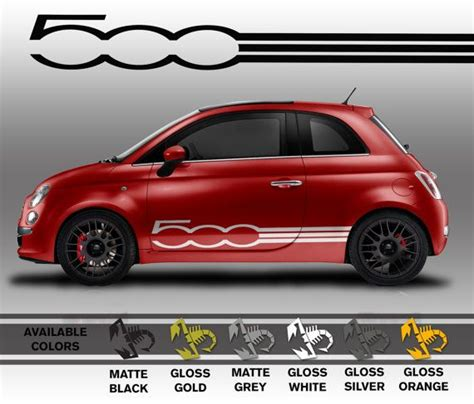 Ea Cutting Sticker Decal Code Stop Tech 1 Sponsor Logo professionally made fiat 500 decals die cut vinyl by mattebimmer 65 00 geeky