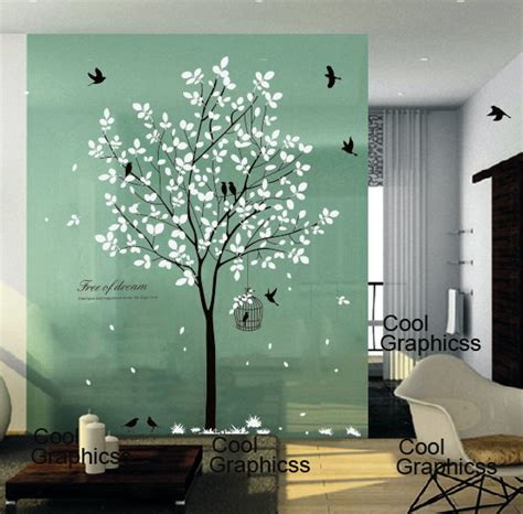 Creative Home Decoration tree wall decal nursery wall sticker office wall decal bedroom