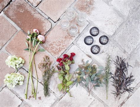 make your own wedding centerpieces how to make your own peony centerpieces rustic wedding chic