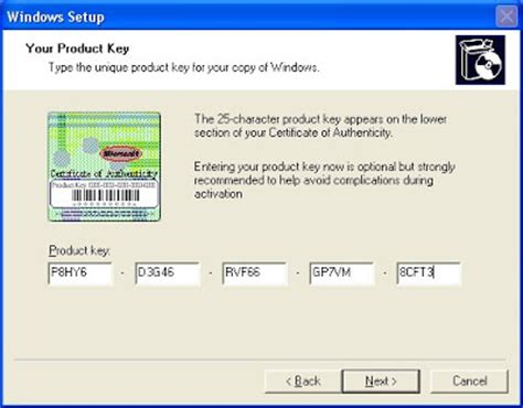 windows xp sp3 keygen