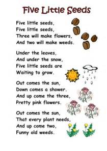 Nursery Rhymes With Food In Them by Themed Poems Ks1 Seeds And Plants By Kcoates Teaching