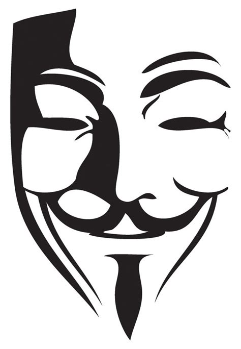 printable anonymous mask guy fawkes stencil www imgkid com the image kid has it