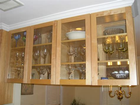 kitchen glass cabinets designs decosee