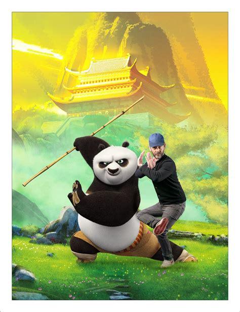pierre arditi doublage voix photos en studio le doublage de kung fu panda 3