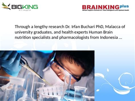 Brainking Plus Sarinah bigking science presentation contact me for top position