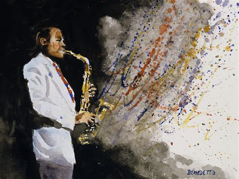 Tony Paintings by Dizzy Gillespie Tony S Jazz Pictures Cbs News