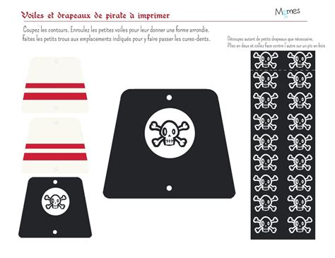 d 233 coration de g 226 teau pirate momes net