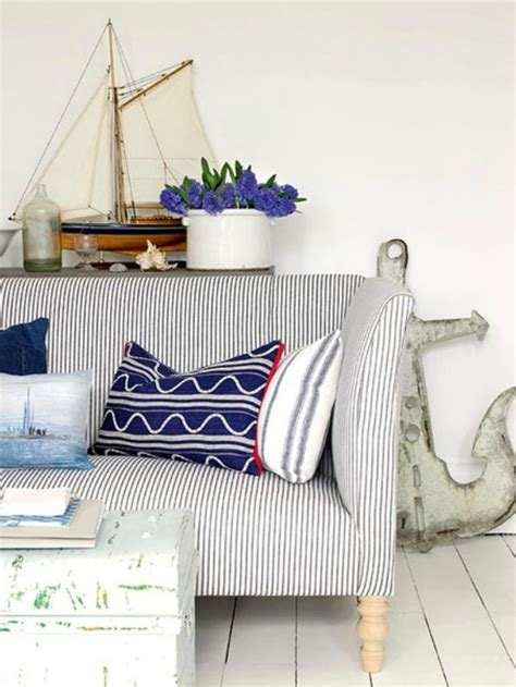 nautical sofa inspirations on the horizon coastal rooms with nautical