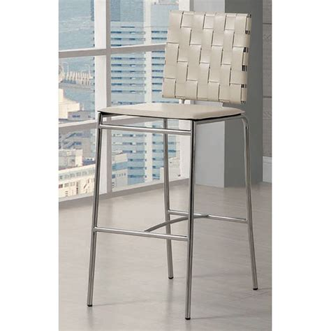 Zanna Set Crm 3 In 1 weave 29 inch barstool set of 2 coaster