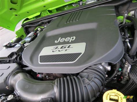 Jeep Wrangler 2013 Engine 2013 Jeep Wrangler Unlimited Sport 4x4 3 6 Liter Dohc 24