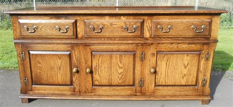 Antique Style Dresser by Large Antique Style Oak Dresser