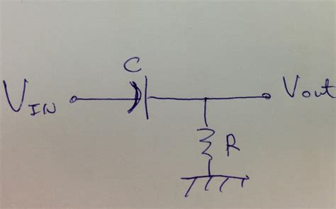 capacitor value to block dc block a dc component a simple capacitor and a dc servo circuit electronics and electrical