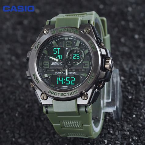 Jam Tangan G Shock Gwg1000 casio g shock jam tangan pria dualtime analog digital