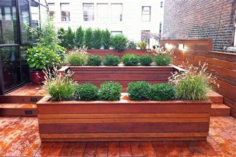 rooftop gardening containers new york rooftop gardens landscaping network
