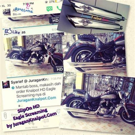 Knalpot Slipon Harley Davidson Model Rinehart Fullblack And Chroem jual segala jenis model exhuast knalpot ekzos slipon dan