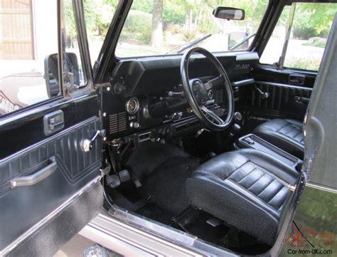 Jeep Interior Paint by 1984 Jeep Laredo Black Cj7 Survivor Original Paint Interior 82k