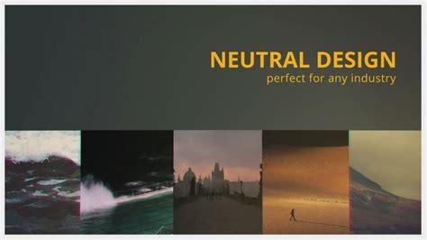 gradual sleek slideshow after effects template