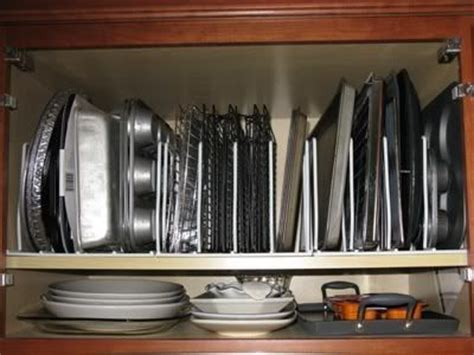 baking storage baking pan storage make things pinterest