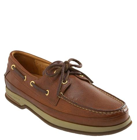 sperry boat shoes sperry top sider gold cup 2 eye boat shoe in brown for