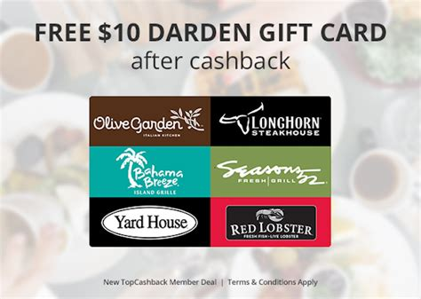 Can You Use Olive Garden Gift Card At Red Lobster - free 10 gift card to olive garden or longhorn steakhouse limited time tools 2 tiaras