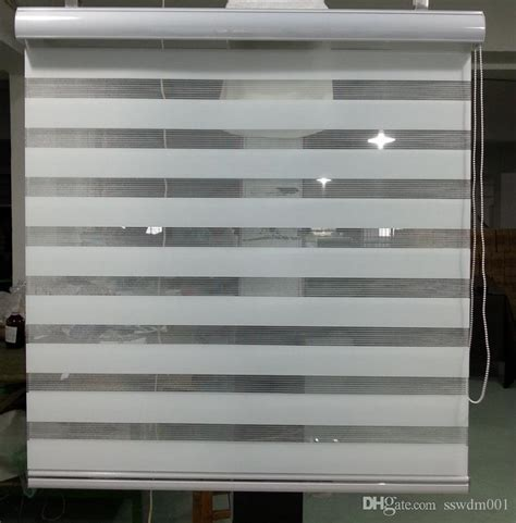 Black Curtains Cheap Sale Translucent Roller Zebra Blinds In White Custom