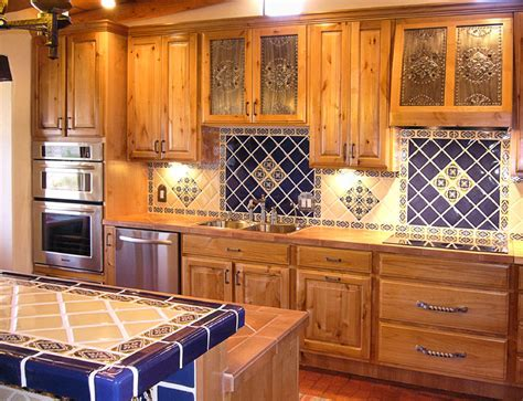 Kitchen project. Want Mexican tiles on countertop and