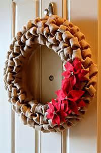 Burlap wreath 15