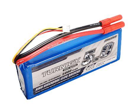 5000 Mah 2s1p 74v 20 30c Hardcase Pack Murah 1 turnigy lipo battery 5000mah 2s 7 2v 20c ebay
