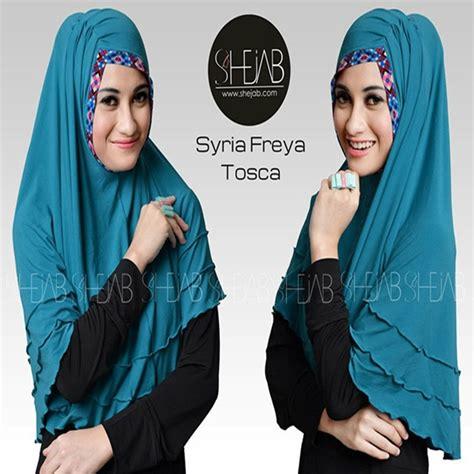 Murah Jilbab Instant Syari Fathania 2 model jilbab instan syar i freya terbaru murah bundaku net