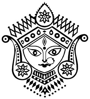 tattoo of name vaishnavi craft for the crafty maa durga for painting