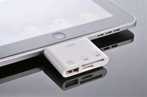 ipad に非純正 3 in 1 カメラ接続キット、usb + sd + microsd対応 engadget 日本版