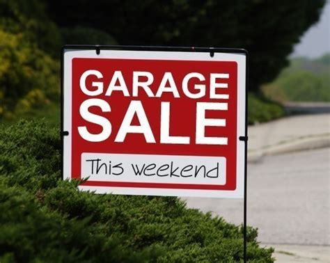 Best Day For Garage Sale by 8 Tips For A Successful Autumn Tag Sale