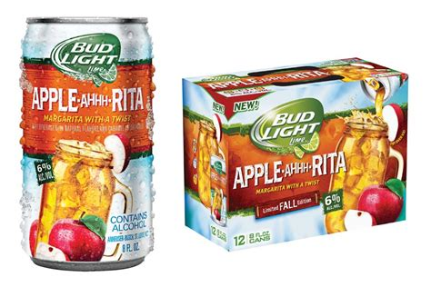 bud light rita new flavors apple ahhh rita is bud light s next canned
