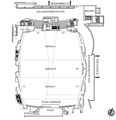 music city center floor plan karl f dean grand ballroom nashvillemusiccitycenter com