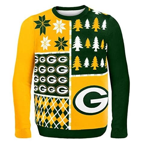 ugly green green bay packers ugly christmas sweaters