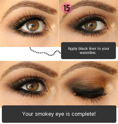 tutorial on eyeshadow for brown eyes smokey eyeshadow tutorial for brown eyes
