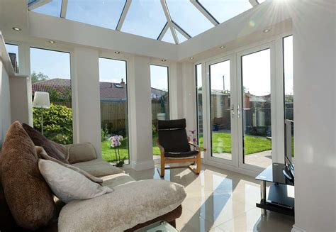 living room conservatories livin room cross extensions ultraframe conservatory new south lakes windows