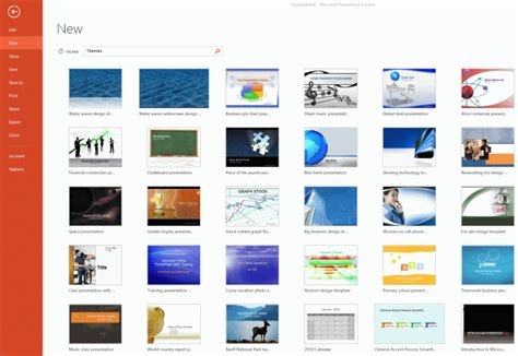 themes microsoft office powerpoint 2013 insert online themes in powerpoint 2013
